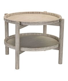 This Driftwood Side Table is perfect! #zulilyfinds