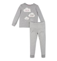 Pyjama dans gris clair chiné