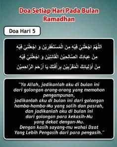 Doa hari 5 Ramadhan Dua For Ramadan, Adha Mubarak, Self Reminder, Islamic Inspirational Quotes, Doa, Way Of Life, Quran, Allah, Projects