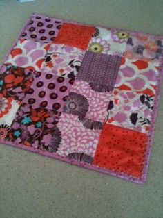 DIY Quilter's Ironing Pad -- so I can iron on the table not run to the ironing board.