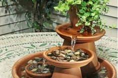 Clay Pot Fountain Instructions Video Tutorial
