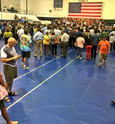 Yikes. Hillary Campaigns to Half-Empty Gym at Florida College
