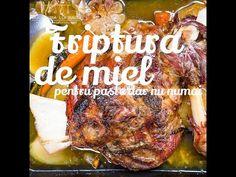 Reteta friptura de miel la cuptor impanata cu usturoi si slanina   Bucataria lui Radu - YouTube