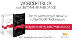 http://margaretfeinberg.com/wonderstruck/  You don't have to live like making a PB+J is the best thing in your life. God wants to awake you to Himself and His work. The wonder of God awaits you all around. My friend, Margaret Feinberg, wrote a new book. It invites you to toss back the covers, climb out of bed, and awake to the wonders of God. I read it and it's really, really good. She didn't pay me to say that. Though she did buy me a burrito. Because, I hate PB+J. **  Margaret Feinberg...