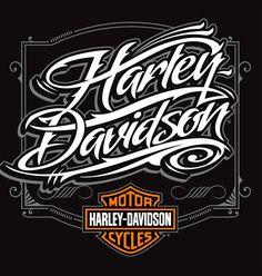 Harley-Davidson Illustrations | Abduzeedo