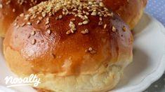 Hamburgerzsemle Tündér konyhájából | Nosalty Bread And Pastries, Pastry Recipes, Food, Breads, Hungary, Bread Rolls, Pastries Recipes, Essen, Bread