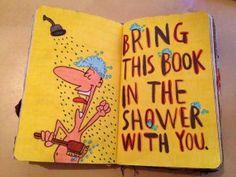 prysznic z dzienniczkiem