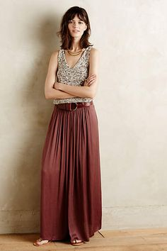 Kasba Maxi Skirt - anthropologie.com
