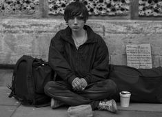 a #homeless young man on the streets of #bath - #streetphotography