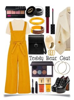 """Teddy Bear Coats"" by ittie-kittie ❤ liked on Polyvore featuring Burberry, Totême, Mara Hoffman, Marc Jacobs, Mulberry, Dorothy Perkins, SCERVINO STREET, Laura Mercier, Gucci and NARS Cosmetics"