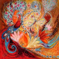 Four Elements IIi. Fire by Elena Kotliarker Canvas Wall Art, Diamond Painting, Sale Artwork, Mystical Art, Original Paintings, Painting, Art, Original Art, Diamond Drawing