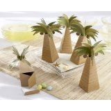 Palm tree favor boxes are unique favors for a beach wedding. Make your destination wedding or beach party memorable with palm tree favors from Kate Aspen. Beach Party Favors, Beach Wedding Favors, Wedding Favor Boxes, Unique Wedding Favors, Wedding Gifts, Tree Wedding, Wedding Ideas, Summer Wedding, Party Favours