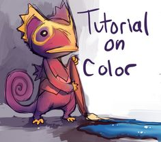 How I See Color - A Tutorial by purplekecleon.deviantart.com on @deviantART