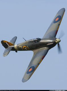 The British Hawker Hurricane Navy Aircraft, Ww2 Aircraft, Fighter Aircraft, Aircraft Carrier, Military Aircraft, Fighter Jets, Hawker Hurricane, Hurricane Plane, Fixed Wing Aircraft