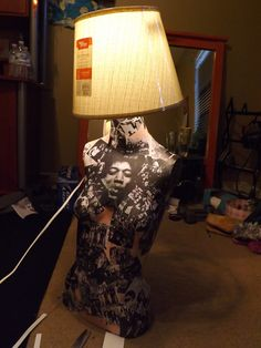 Are you inspired by these mannequin lamps? MannequinMadness.com sells new and used mannequins so you can create your own mannequin lamp.