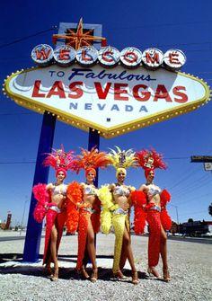 vegas show girl | museum for Las Vegas' showgirls! | Neo Retro