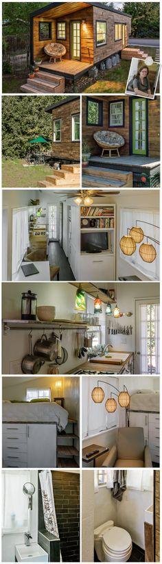 Casa sustentável. Novas alternativas. Tiny House. Macy Miller. Casa pequena. Decoração pequenos espaços. Habitação ecologicamente correta. Baixos custos.