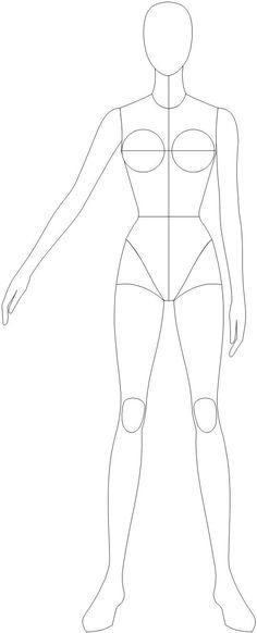 base desenho tecnico moda - Pesquisa Google