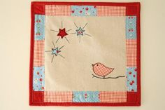 Why Not Sew?: Fun Sewing and a Free Bird oh so sweet little birdie