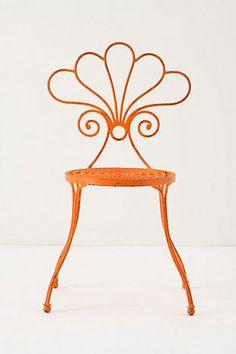 i love orange garden furniture