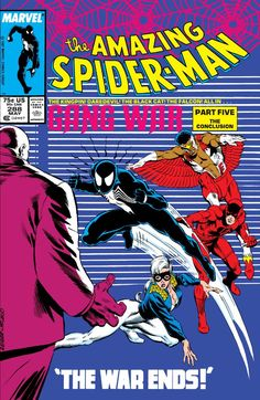 Amazing Spider-Man (1963) #288 #Marvel #AmazingSpiderMan (Cover Artist: Steve Geiger & Bob McLeod)