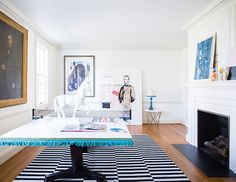 a 6,000-square-foot modern home makeover  on domino.com
