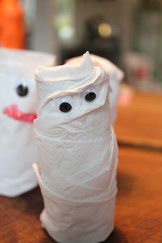 Mumier som höstpyssel