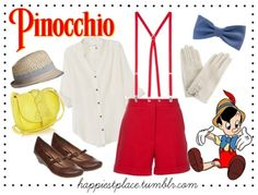 Pinocchio Outfit<3