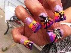 Cali Love super duckfeet Nails  #ombre