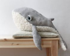 PRE-ORDER Big Whale O Stuffed Animal O Plush Toy by BigStuffed