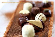 Almost Bourdain: Forrest Gump (Chocolate) Tart