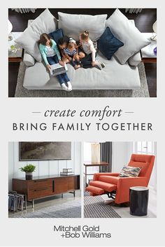 Make growing up memorable with a Media Sofa for the whole family to gather. Comfort is our specialty, and our eco-friendly US-made upholstery includes pieces for every room in fabrics & leathers. Find all you need to finish a room or home, from stora Furniture, Room, Living Room Furniture, Home, Living Room Decor, Room Decor, Living Room Decor Modern, Furnishings, Home And Living