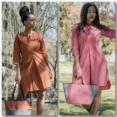 African Wedding Attire, African Attire, African Fashion Dresses, African Wear, African Dress, Modern Outfits, Chic Outfits, Fashion Outfits, Seshoeshoe Designs