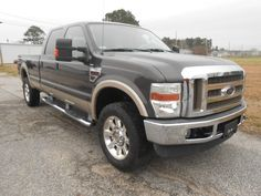This 2008 Ford F-350 Lariat Crew Cab is a great heavy-duty truck that has a huge truck bed with the storage capacity to accomodate any project! #Ford #UsedCars #PerryAutoGroup