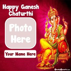 My name with photo frame online creator vinayaka chaturthi wishes images, friends, family, relative, mom, dad, brother, sister, love, wife, husband, special add photo with name writing beautiful god shree ganesh chaturthi festival wish you greeting card editor tools free, best collection 2020 ganesh chaturthi blessed quotes message picture customized name photo frame, personalized name writing unique bal ganesha wallpapers download. Ganesh Chaturthi Messages, Ganesh Chaturthi Photos, Ganesh Chaturthi Greetings, Happy Ganesh Chaturthi Wishes, Happy Ganesh Chaturthi Images, Wishes For Friends, Friends Family, Vinayaka Chaturthi Wishes, Best Photo Frames