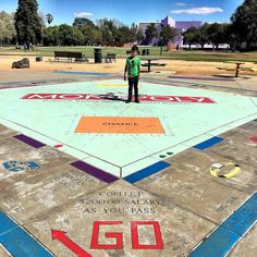 Play an over-sized game of Monopoly In the Park  This is probably the silliest addition to this list but exactly by virtue of the fact of how ridiculous it is its perfect for eye-catching shots that you might post on Instagram. It is a pretty impressive 930-square-foot Monopoly game which allows it to hold a world record. Before you go however you will have to make a reservation for your time spent with this over-sized board game. The nice thing though is that there are refs to take care of…