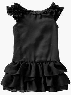 Toddler little black gap dress
