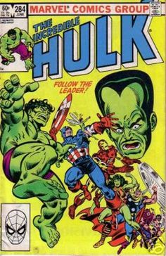 The Incredible Hulk 284 The Leader Marvel comics group