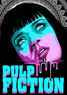 Pulp Fiction by Dana-Ulama on DeviantArt - bigoltrucks Pulp Fiction Poster, Arte Do Pulp Fiction, Pulp Fiction Kunst, Pulp Fiction Tattoo, Pulp Fiction Quotes, Uma Thurman Pulp Fiction, Mia Wallace, Kunst Poster, Alternative Movie Posters