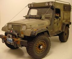 I have a Jeep that I am planning on restoring.  Something along these lines would be pretty sweet!