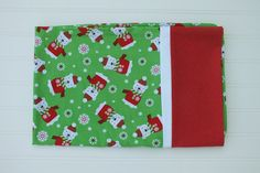 Standard size pillowcase Holiday Christmas Gift by BlackKatStudio
