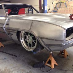 """Passenger side coming along on """"Get Baked"""". Getting all the pieces TIG welded in. Next is metal finish and hammer and dolly work! Custom Metal Work, Custom Metal Fabrication, Amc Javelin, E36 Coupe, Bmw E36, Sheet Metal Work, Metal Shaping, Pontiac, Hot Rods"""