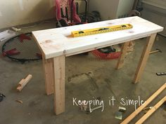 diy sofa table for only painted furniture Ikea Furniture, Furniture Makeover, Painted Furniture, Furniture Logo, Building Furniture, Furniture Cleaning, Woodworking Furniture, Plywood Furniture, Furniture Projects