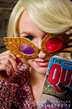 luna lovegood // harry potter I wish I could be like luna: genuinely nice and not care what others thought. Harry Potter Books, Harry Potter Love, Harry Potter World, Harry Potter Cosplay, Harry Potter Halloween, Cool Costumes, Cosplay Costumes, Costume Ideas, Luna Lovegood Costume