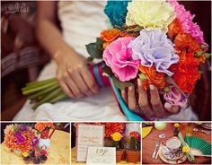 An incredible Cinco de Mayo fiesta inspired wedding photo shoot. Out of this world beautiful!