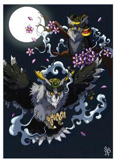 Oriental Owl por Sergiosart - Fantasía | Dibujando.net