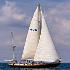 Sparkman & Stephens Swan 55 yacht, the Kira.  Fully refitted for the 2017 season for adventure sails, racing,  and charter.