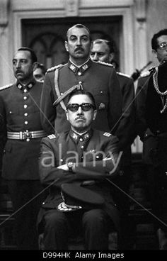 Augusto Pinochet (1915 - 2006) Chilean army general. President of Chile after leadin a U.S.-backed coup d'état on September 11, Stock Photo