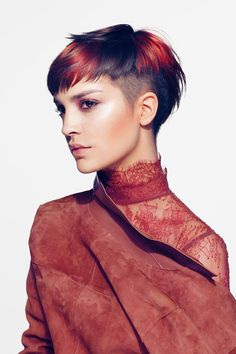 Björn Axén Collection S/S 2017 New Bloom (With images) Latest Short Hairstyles, Best Short Haircuts, Pixie Hairstyles, Pixie Haircut, Cool Hairstyles, Girl Haircuts, Hairstyle Ideas, Fringe Hairstyle, Easy Hairstyle
