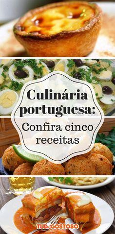 5 pratos da culinária portuguesa para fazer em casa